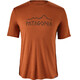Patagonia M's Capilene Daily Graphic T-Shirt Rune Age: Copper Ore X-Dye